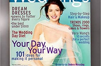 Weddings - A Special Issue for the Bride from InStyle Magazine. Spring, 2000 Colin Cowie